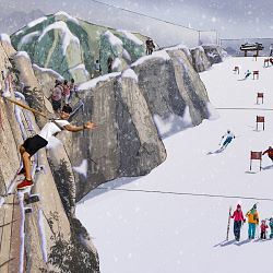 INPUT PLANS ANOTHER SKIDOME IN CHINA